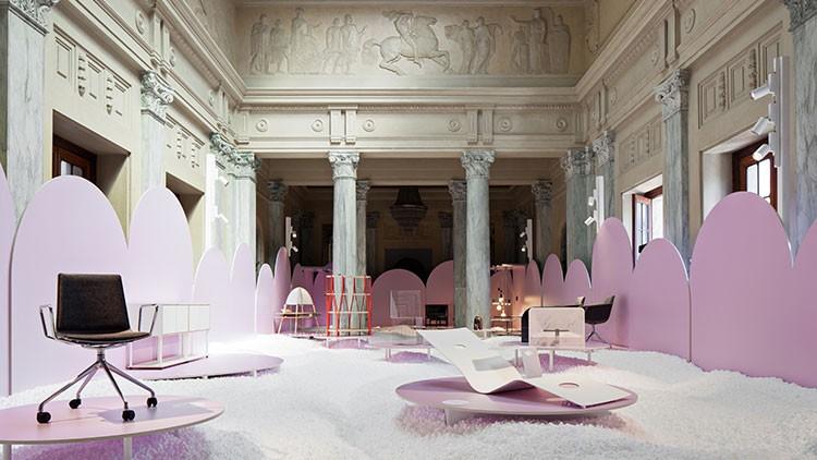 Österreichische Länderpräsentation AUSTRIAN DESIGN – PLEASURE & TREASURE beim Salone Internazionale 2019 in Mailand