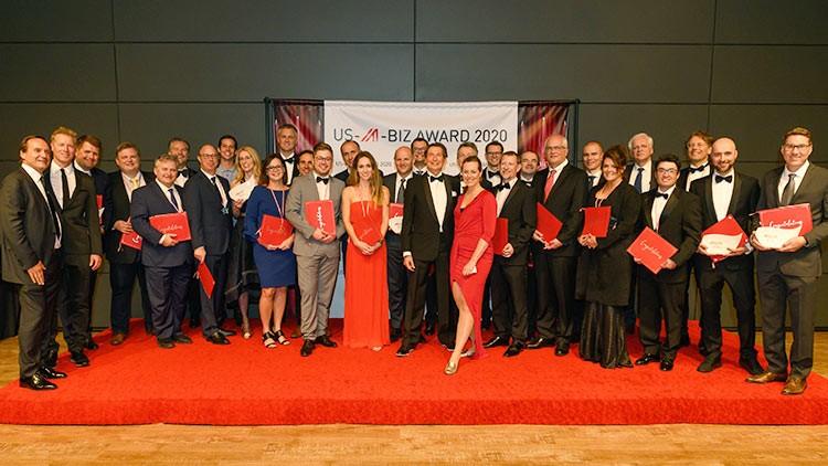 Die Gewinner und Nominierten des US-A-BIZ AWARD 2020.