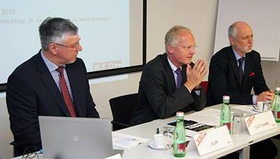 v.l: Bernhard Rupp, Martin Gleitsmann und Gerald Bachinger