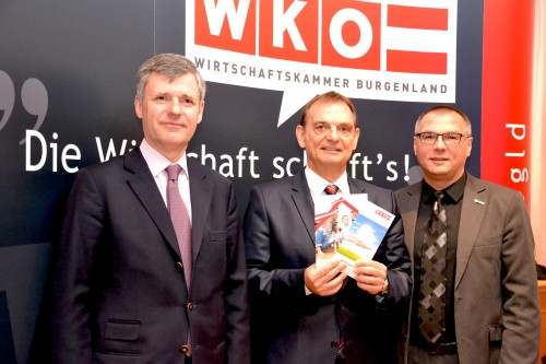 DI Dr. Rainer Mikulits, Obmann Ing. Werner Adelmann, Ing. DI (FH) Gerhard Köppel