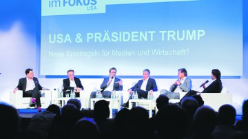 Newsportal In der Sandkiste mit Donald Trump