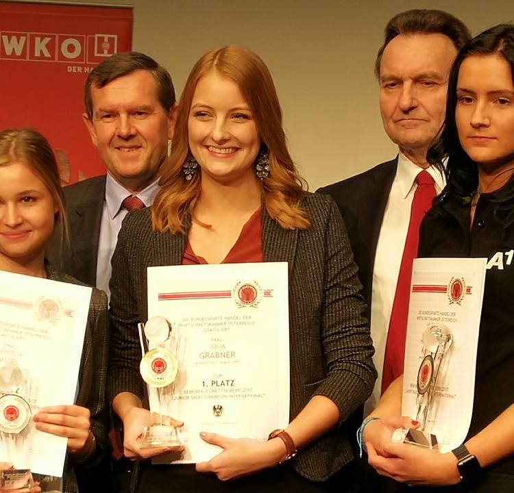 Die Gewinner des Junior Sales International