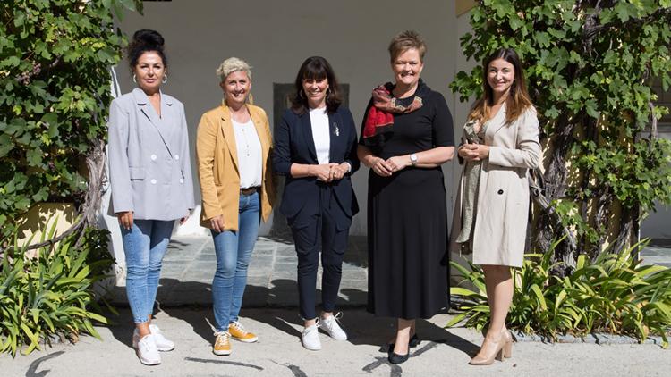 Die beiden Vizepräsidentinnen Martha Schultz und Astrid Legner besuchten Unternehmerinnen in ganz Kärnten, um deren Erfolgsstorys und Anliegen kennenzulernen