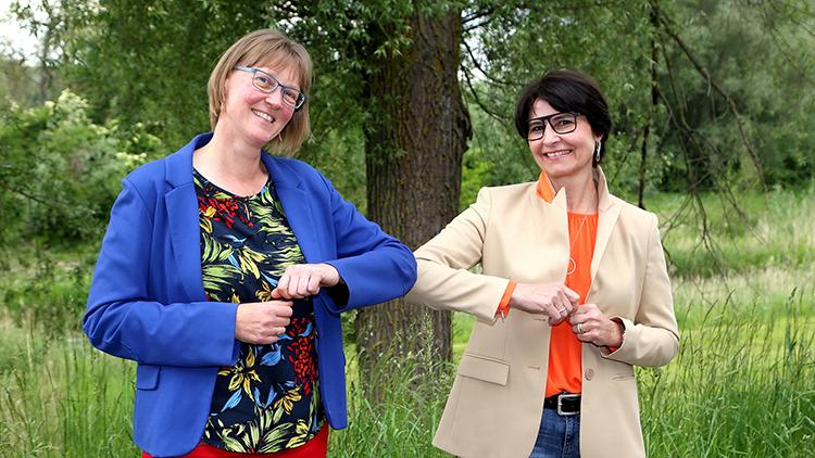 Power-Frauen-Treffen bei Familie Ecker in St. Marienkirchen