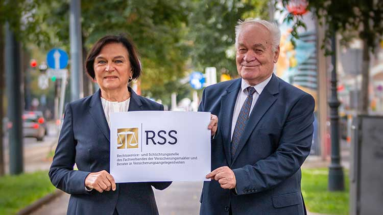 Ilse Huber (Künftig zweite Vorsitzende der RSS) und Gerhard Hellwagner (Vorsitzender der RSS)