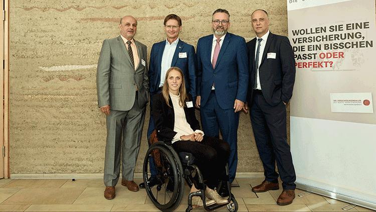 Kira Grünberg, Rudi Mittendorfer, Andreas Kößl, Christoph Berghammer, Erwin Gisch