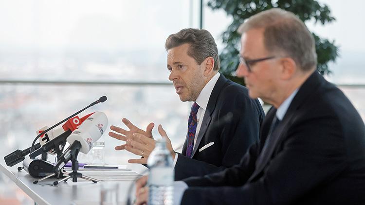 WKÖ-Präsident Harald Mahrer und Generalsekretär Karlheinz Kopf