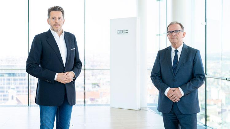 Harald Mahrer und Karlheinz Kopf