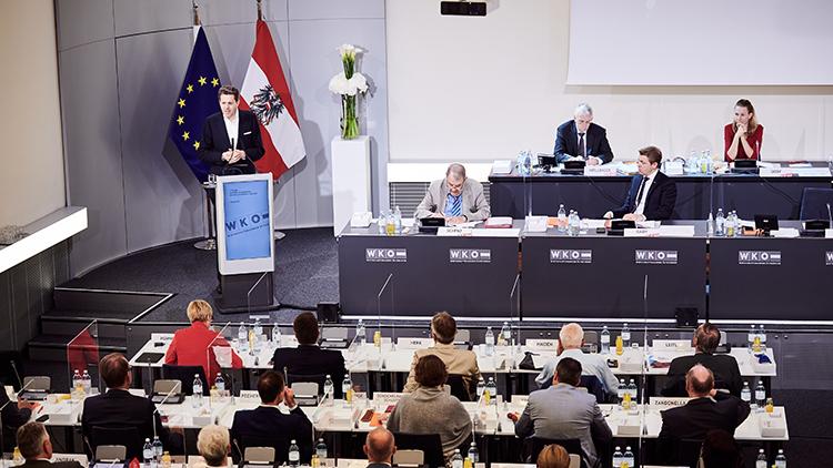 Wirtschaftsparlament der WKÖ Juni 2021