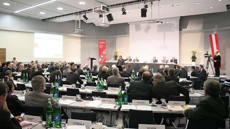 Wirtschaftsparlament der WKÖ - Live-Stream