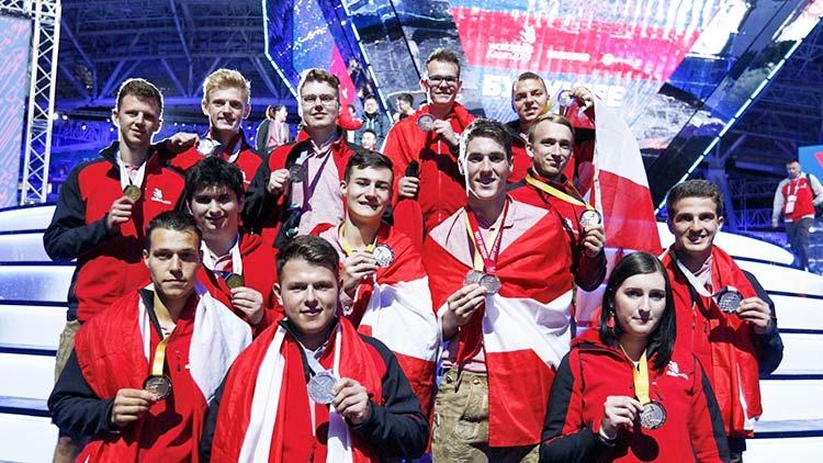 WorldSkills 2019: Unsere Medaillengewinner in Kazan