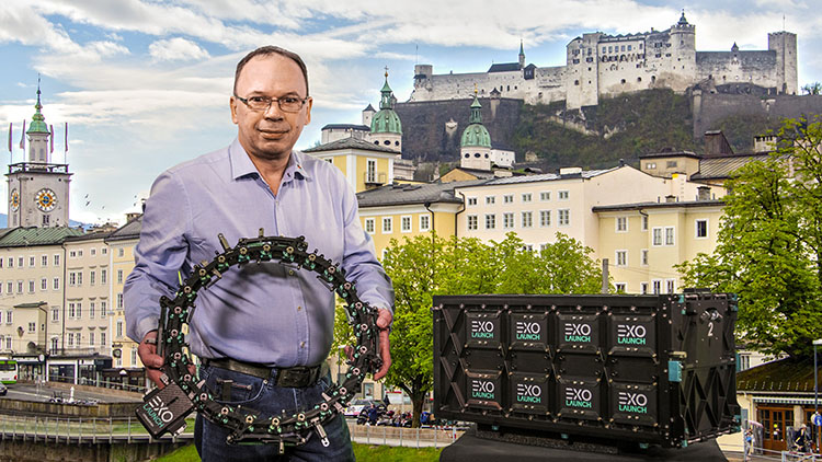 Die Satelliten-Transportsysteme made in Salzburg sind international gefragt.