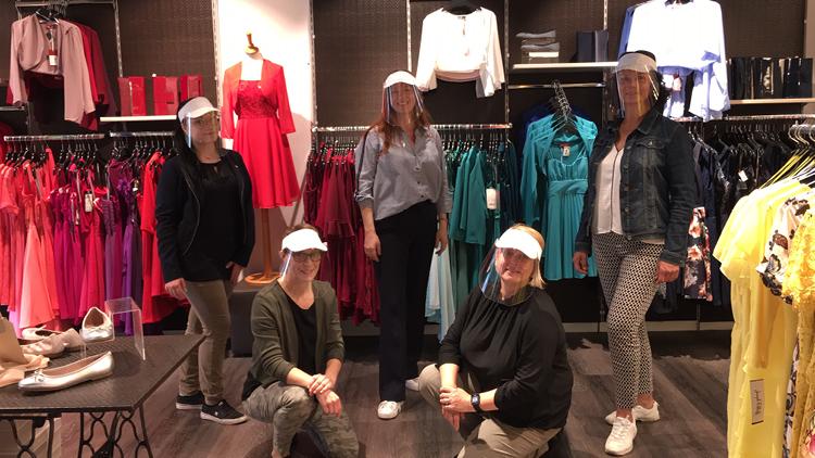 Team von Hufnagl im Geschäft