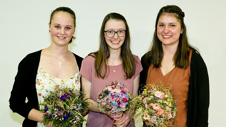 Floristenlehrlinge, Gärtner, Auszeichnung, Preis