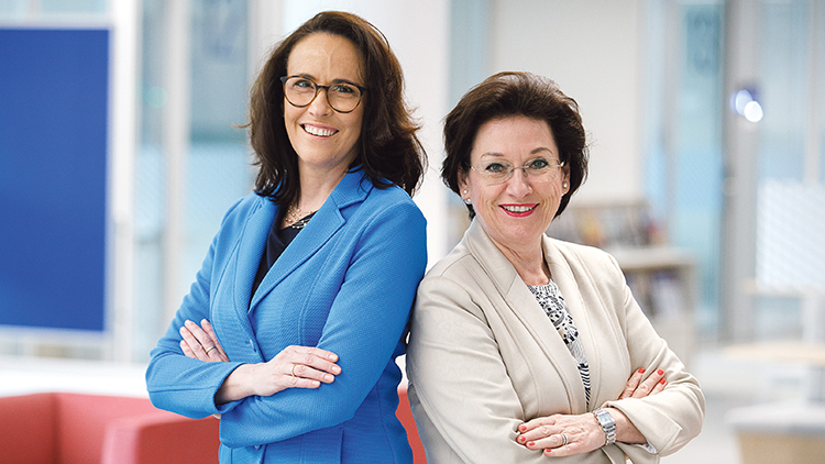 Kasia Greco und Margarete Kriz-Zwittkovits