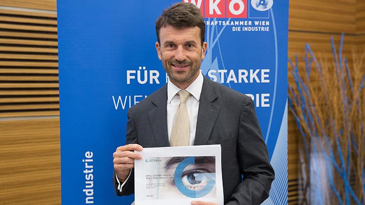 Wirtschaftsstandort Wien - Umfrage