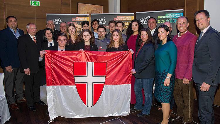 Wiener Tourismusnachwuchs holt fünfmal Gold