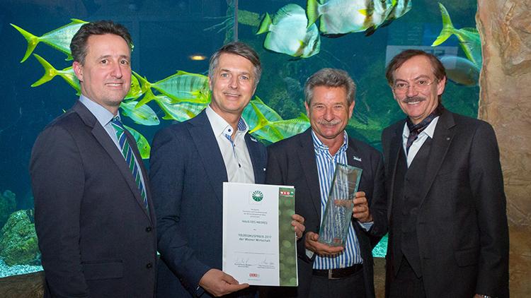 Haus des Meeres ist Wiener Tourismuspreisträger 2017